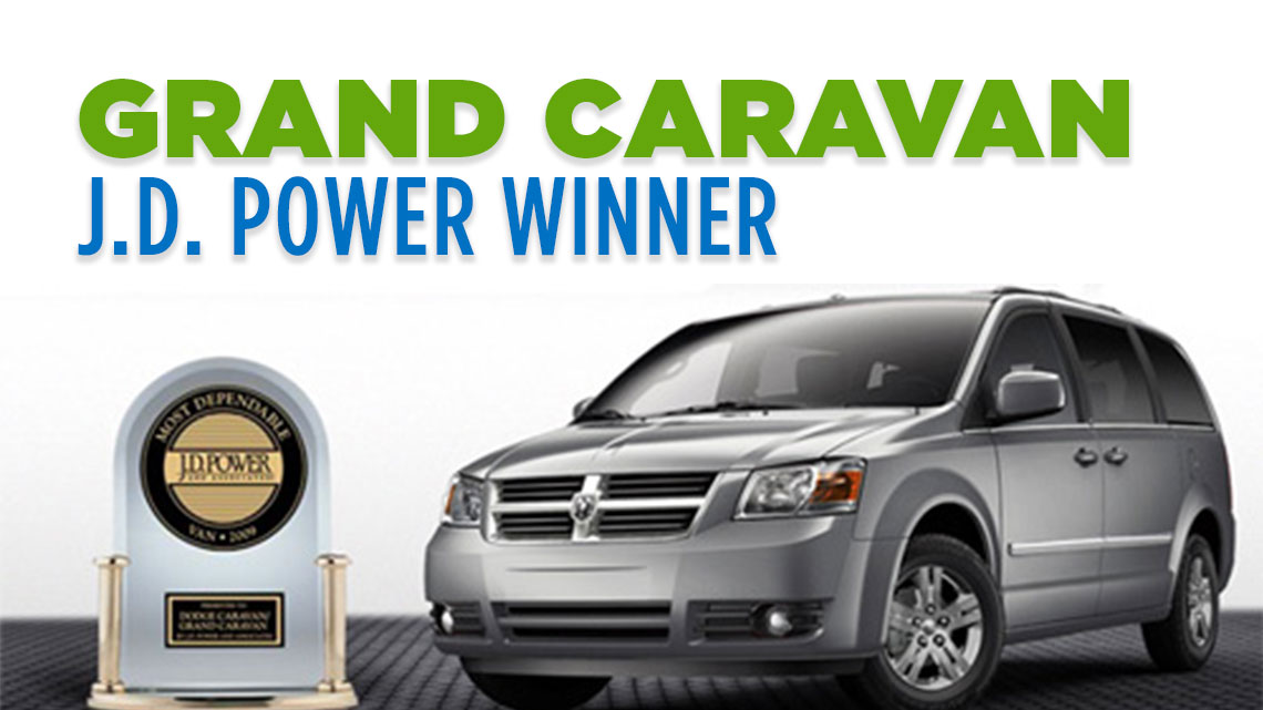 dodge grand caravan named most dependable van by j d power and associates. Black Bedroom Furniture Sets. Home Design Ideas
