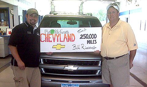 250K Miles Chevyland