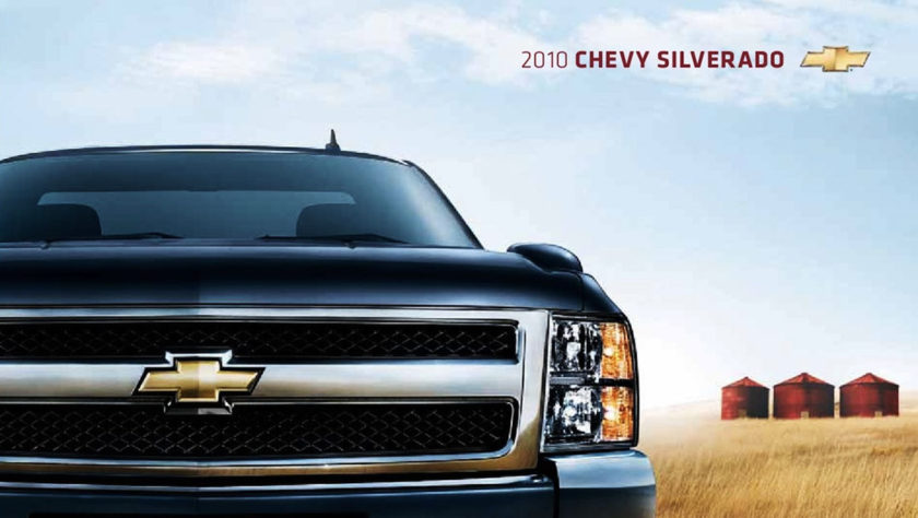 2010 Chevy Silverado Early Closeout