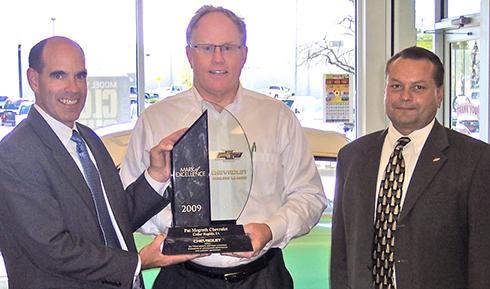 Mcgrath Cedar Rapids >> Pat Mcgrath Chevy Earns Mark Of Excellence Award