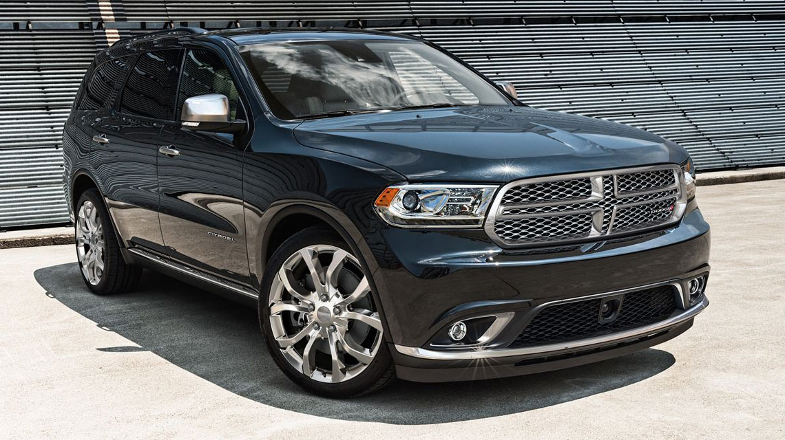 Black Dodge Durango
