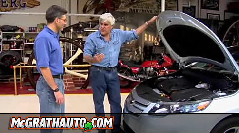 Jay Leno Impressed With New Chevrolet Volt