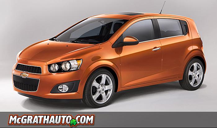 General Motors Unveils Chevy Sonic At 2011 Detroit Auto Show