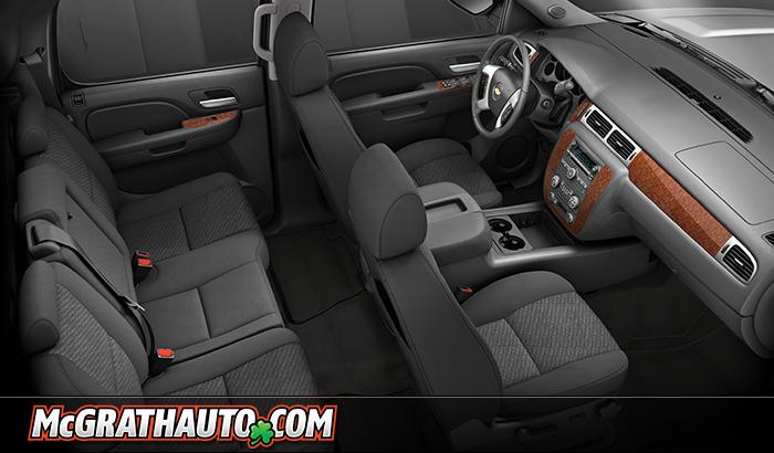 2011 Chevy Avalanche Interior Photo