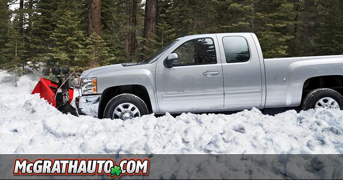 Chevy Silverado HD Snow Plow