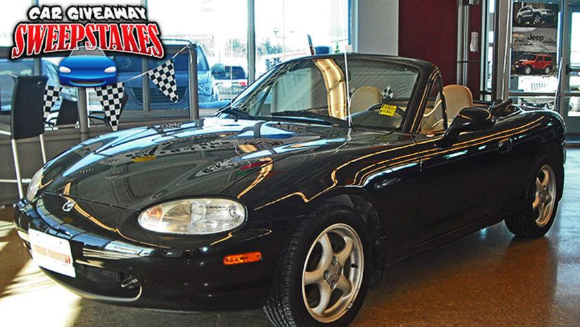 Mazda Miata McGrath Car Give Away