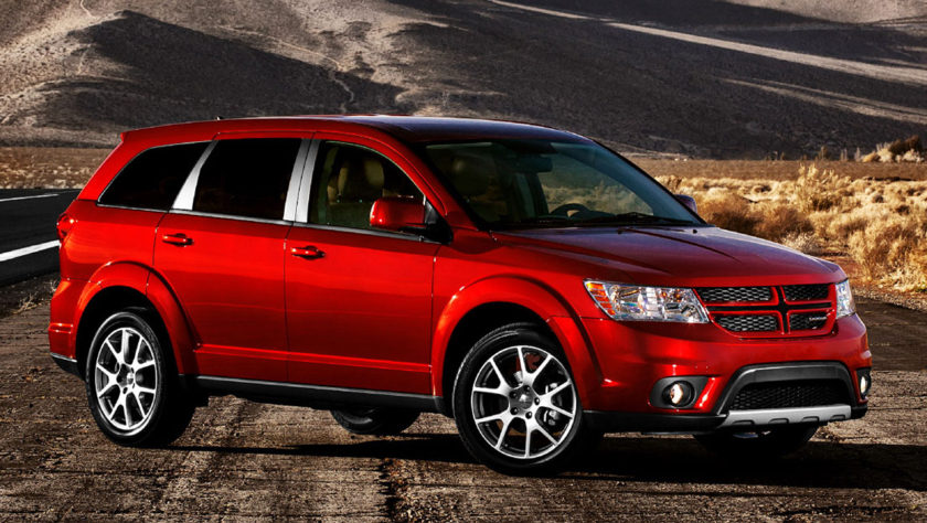 2011 Red Dodge Journey