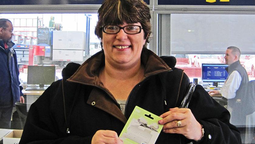 Gift Card Winner