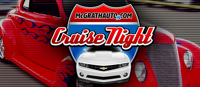 Pat Mcgrath Cedar Rapids >> Pat McGrath Chevyland Cruise Night Car Show Returns to Iowa!