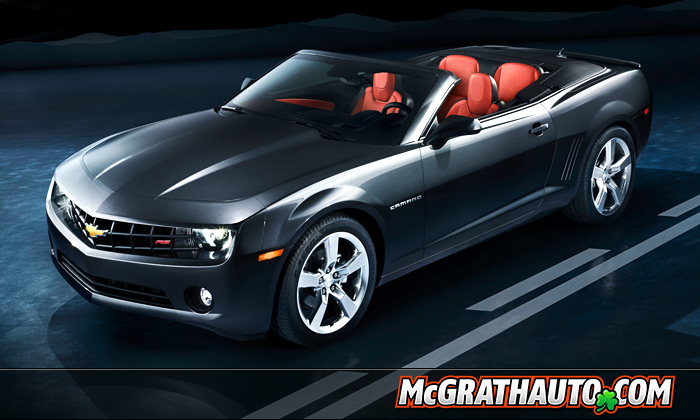 2011 Chevy Camaro Convertible in Cedar Rapids
