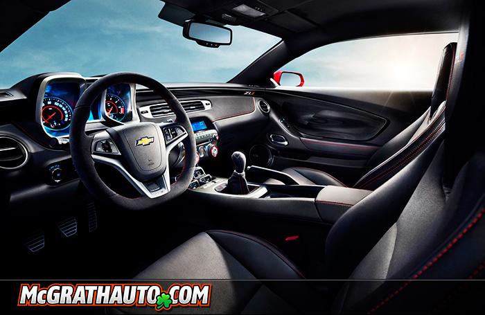 Chevy Camaro ZL1 Cabin Interior