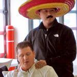Darin Utley and Ben Jacobs Celebrating Cinco De Mayo