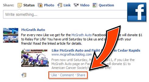 McGrath Auto Benefits Relay for Life