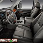2011 Chevy Silverado 2500HD Front Seat