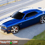 2011 Dodge Challenger SRT8 Bird's Eye
