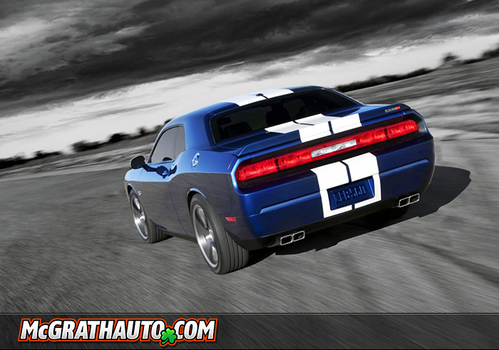 Dodge Challenger SRT8 Rear End