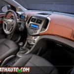 2012 Chevy Sonic Interior Dash