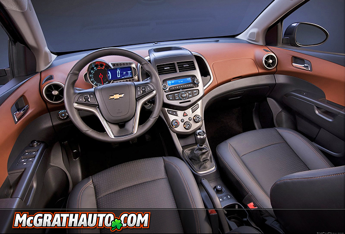 Gallery For > Chevy Sonic Interior