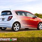 2012 Chevy Sonic Z-Spec Profile