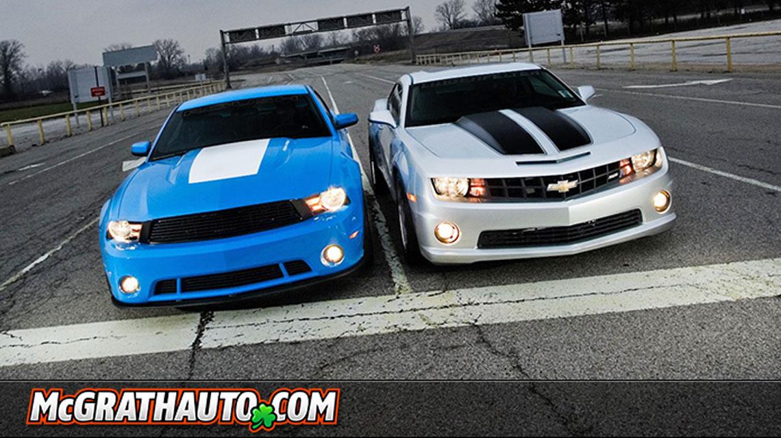 Camaro Vs Mustang >> Pat Mcgrath Chevyland 2011 Chevrolet Camaro Ss Vs Ford