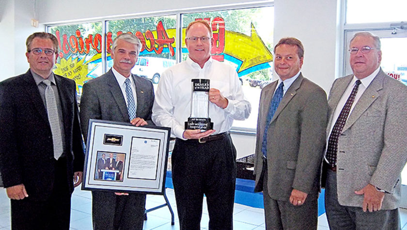 Chevyland Dealer of the Year