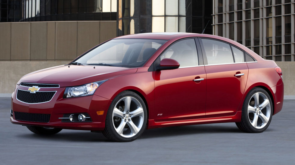 Red 2011 Chevy Cruze