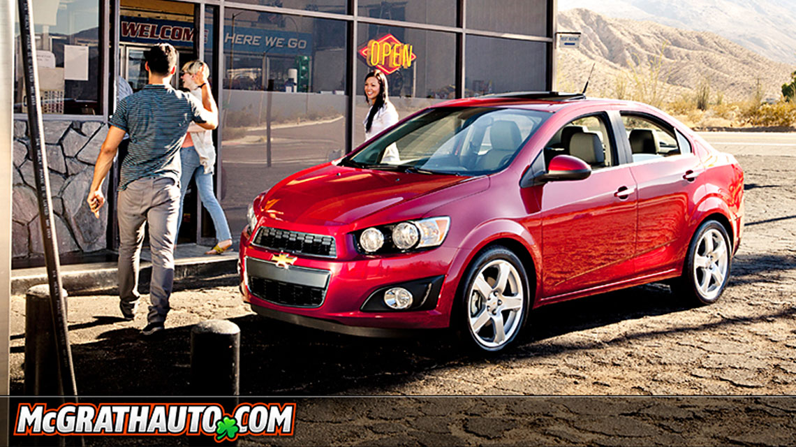 2012 Chevy Sonic Sedan Vehicle Overview Pat Mcgrath Chevyland