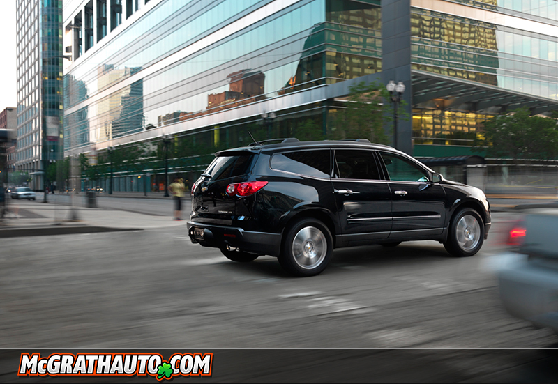 Black Chevy Traverse Photo