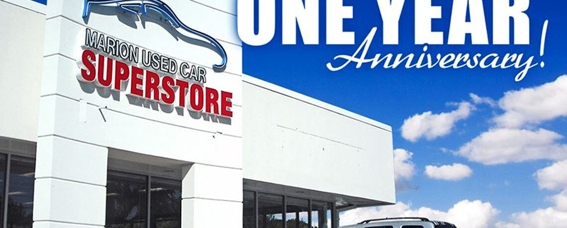Marion Used Car Super Store Birthday
