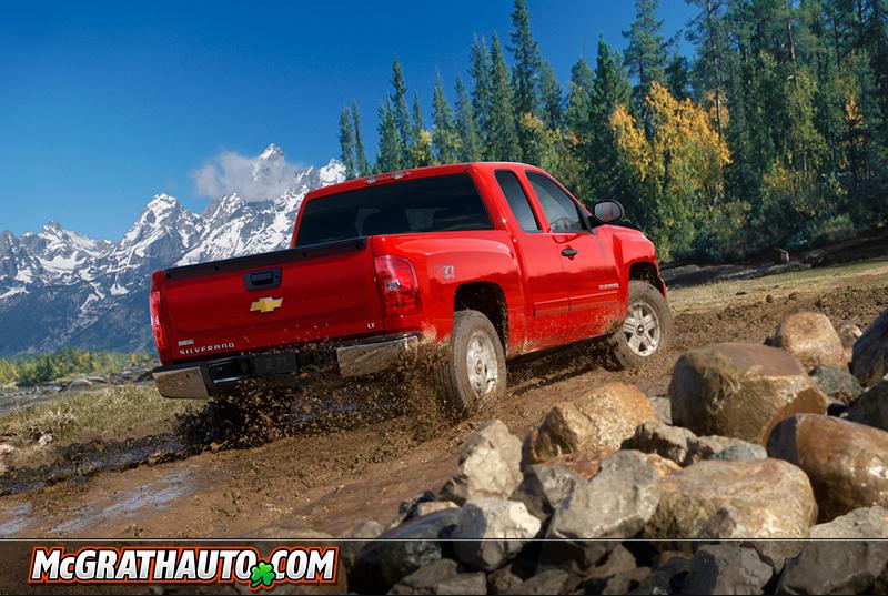 Chevy Silverado Red Rear Cedar Rapids