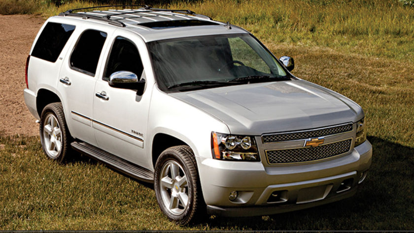 2012 Chevy Tahoe Vehicle Profile