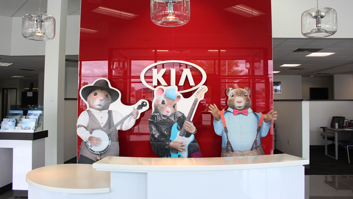 Inside McGrath Kia