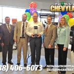 Pat McGrath Recieves Dealer of the Year Honors