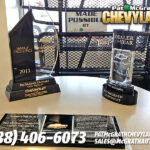 Chevy 2011 Dealer of the Year & Mark of Excellence Award
