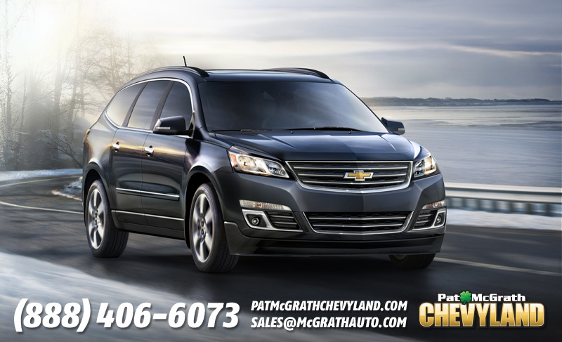 2013 Chevy Traverse Coming Soon to Cedar Rapids Iowa Dealership
