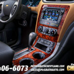 2013 Chevy Traverse Interior Console