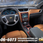 2013 Chevy Traverse Interior Dash
