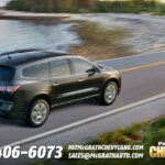 2013 Chevy Traverse Rear Quarter