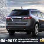 2013 Chevy Traverse Rear Tailgate
