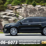 2013 Chevy Traverse Side Profile
