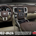 2013 Dodge Ram 1500 Interior Dash Leather