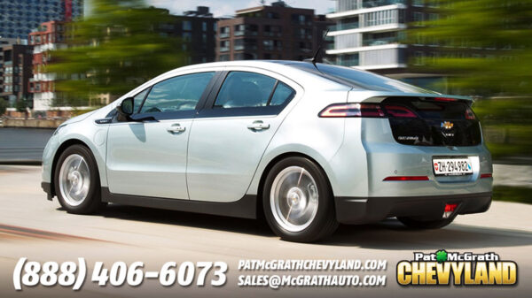 Chevy Volt Driving