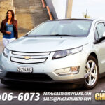 Chevrolet Volt Front Quarter Grill