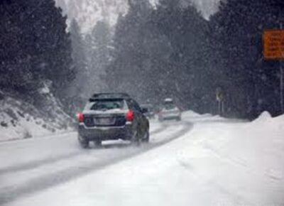 Driving Conditions on snowy roads