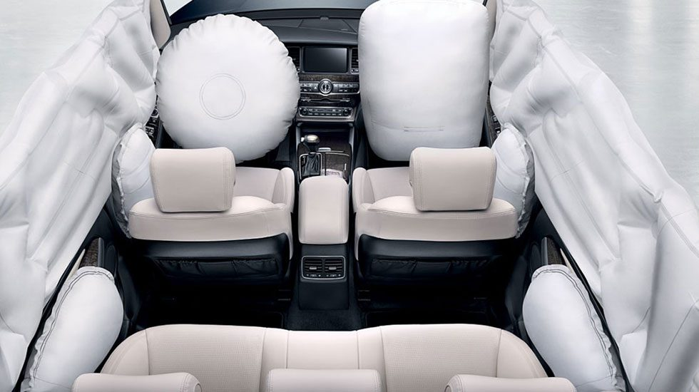 air bags in the Kia Sportage