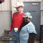 Red Riding Cowboy and The Big Bad Wolf