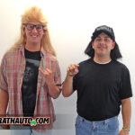 Wayne and Garth (AKA) Colton and Ian