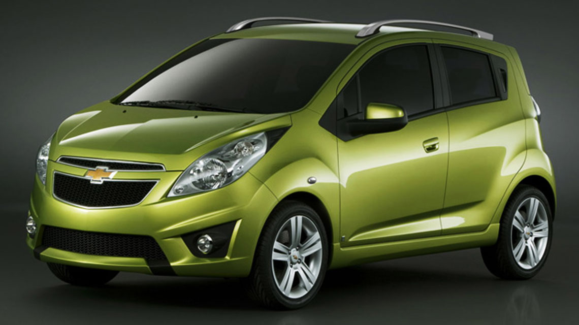 Green Chevy Spark