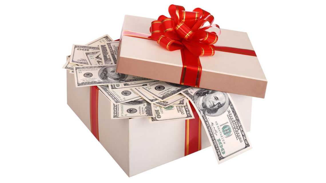 Holiday Gift Money
