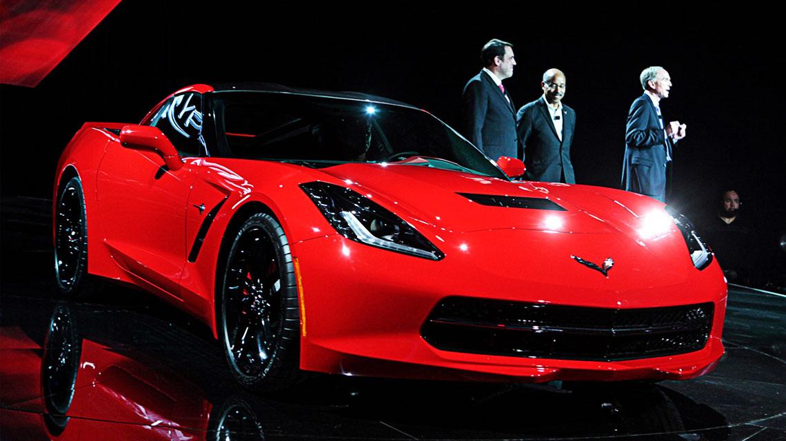 2014 Red Corvette